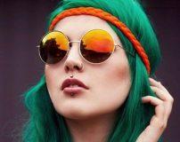 مدل رنگ مو سبز مناسب دختران و زنان جوان
