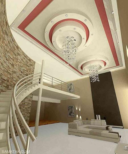 کناف کاری سقف؛ جدیدترین مدل های کناف کاری سقف (100 عکس)