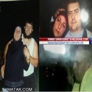 سر زن جوان توسط شوهر داعشی اش بریده شد (عکس)