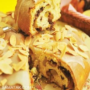 طرز تهیه نان میوه ای برای صبحانه