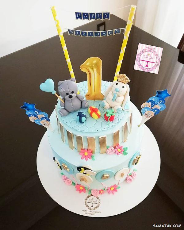 30 مدل کیک تولد یک سالگی پسرانه جدید