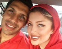 وقتی که سپهر حیدری تولد همسرش را تبریک میگوید + تصاویر عاشقانه