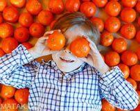 پرتقال بهترین میوه برای کودکان