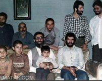 عکس دسته جمعی از رهبر معظم انقلاب به همراه فرزندان شان