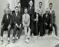 عکس قدیمی کمال الملک نقاش مشهور ایرانی