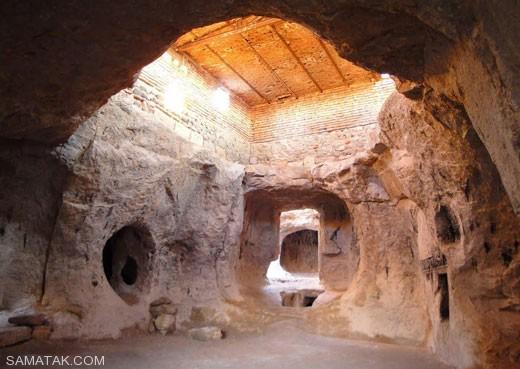 شهر باستانی مراغه در دل رشته کوه های سهند