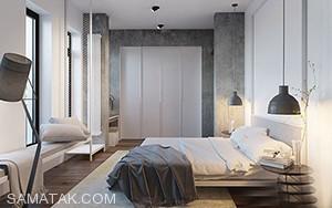 اتاق خواب دو نفره خود را به سبک مدرن بچینید