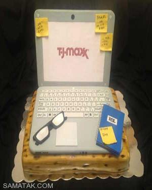کیک هایی خوشمزه با تم روز کارمند