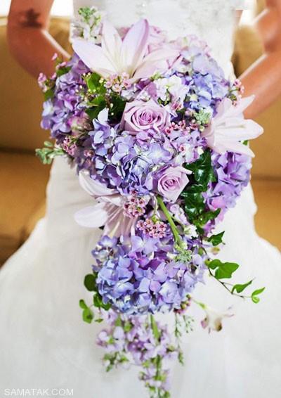 گالری شیک ترین مدل های دسته گل عروس