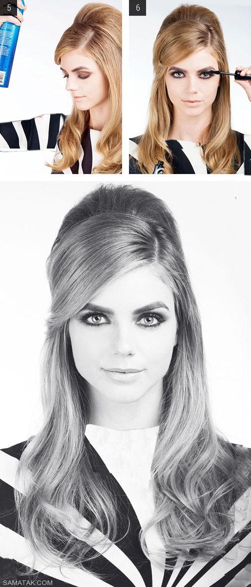 مراحل درست کردن شیک ترین مدل موی باز (تصویری)
