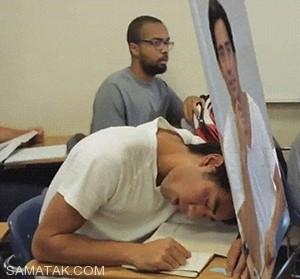 با این روش به راحتی میتوانید سر کلاس بخوابید + تصاویر