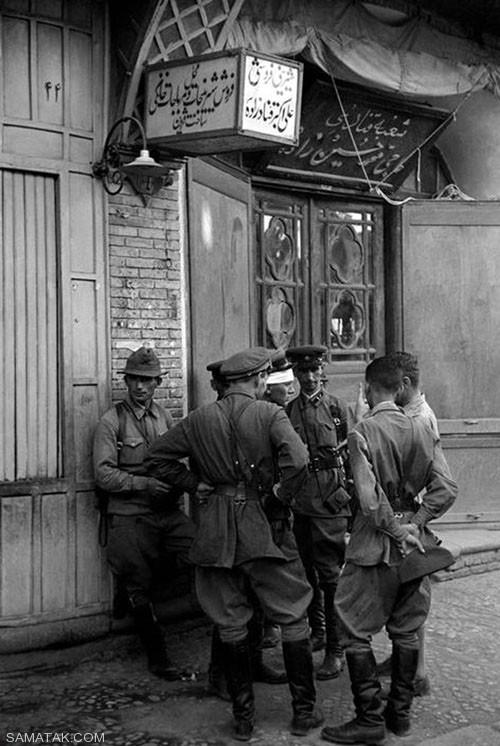 گزارش تصویری ایران، در دوران جنگ جهانی دوم