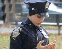 نخستین پلیس زن در کشور آمریکا که باحجاب است + تصاویر