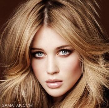 رنگ موی قهوه ای مناسب برای تمام خانم ها