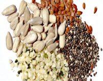 بهترین دانه های خوراکی مناسب برای لاغری