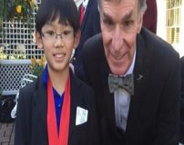 پسر 11 ساله ژاپنی استاد دانشگاه شیمی آمریکا است + تصاویر