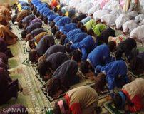 جایگاه و فاصله زن و مرد نسبت به هم در نماز جماعت