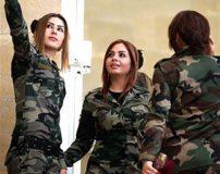 علت آرایش کردن زنان کرد قبل از جنگ با سربازان داعش + تصاویر