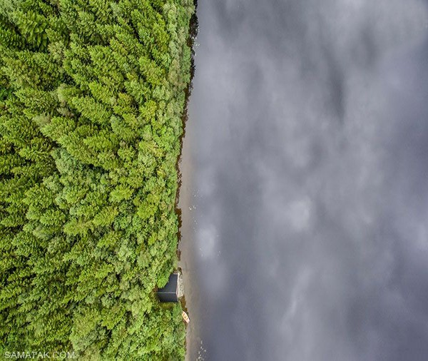 تصاویری از خانه های رویایی در دل جنگل