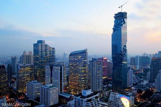 تصاویر بلندترین برج های کشور تایلند