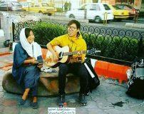 شغل جالب زن و شوهر چینی در خیابان های تبریز + عکس