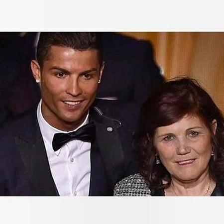 جدیدترین عکس مادر رونالدو فوتبالیست مطرح جهان