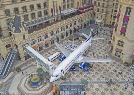 هواپیمای بوئینگ 747 بازنشسته به رستوران جالب تبدیل شد + تصاویر