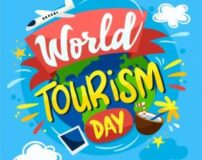 عکس تبریک روز گردشگری | عکس نوشته روز جهانی گردشگری