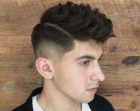 عکس مدل موی مردانه برای صورت لاغر و کشیده