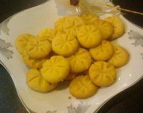طرز تهیه نان قندی خوشمزه ترین شیرینی بهشتی قزوین