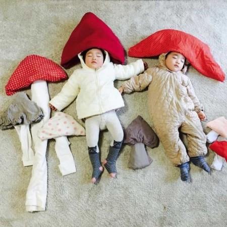عکس های کودکان ناز در حال خواب