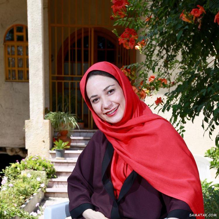 بیوگرافی نسرین نصرتی و همسرش + عکس های جدید