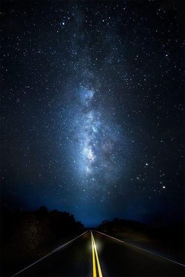 مجموعه 100 عکس ترسناک کهکشان راه شیری