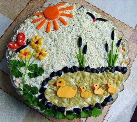 مدل های تزیین غذا مخصوص کودکان