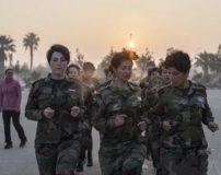 عکس های دختران کماندو گارد ویژه بشار اسد با تیپ خفن