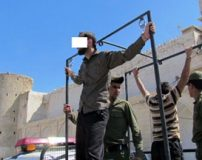تصاویر شلاق زدن دو مرد متجاوز به زنان شوهردار در بوشهر
