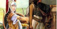 زنان جنگجوی ایران در زمان های قدیم + تصاویر
