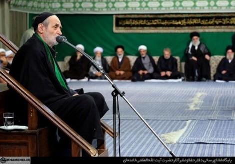 عکس های عزاداری امام خامنه ای در شب های تاسوعا و عاشورا