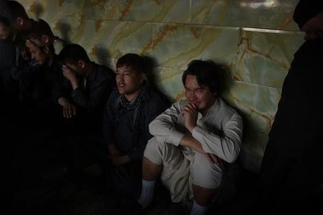عکس های عزاداری مردم افغانستان با زنجیر تیغ دار