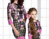 جدیدترین مدل های ست لباس مجلسی مادر و دختر