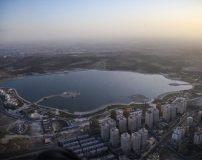 عکس های بزرگترین دریاچه مصنوعی خاورمیانه در ایران