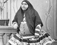 چاق بودن زنان دوره قاجار به چه علت بوده است؟