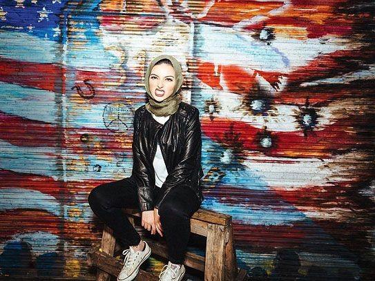 زیباترین دختر مسلمان با اندام قوق العاده زیبا + تصاویر