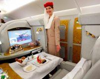 امکانات رفاهی باورنکردنی و مهمانداران زیبا در ایرلاین های امارات