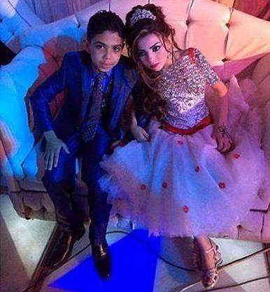 شب زفاف و رابطه جنسی داماد 12 ساله و عروس 11 ساله + تصاویر