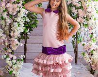 مدل لباس مجلسی برای دختر بچه های 6 تا 9 سال