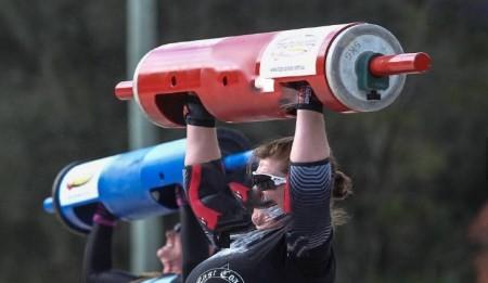 تصاویری از قویترین زنان جهان در مسابقات زنان آهنین