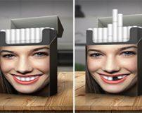 تصاویر جالب و تاثیرگذار تبلیغات علیه سیگار کشیدن