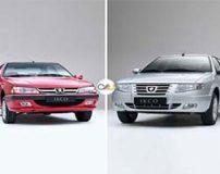 تست رانندگی و مقایسه سورن ELX EF7 و پژو پارس LX TU5 + تصاویر