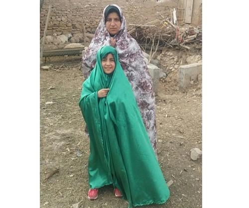 شفا پیدا کردن دختر بچه در حرم امام رضا + تصاویر